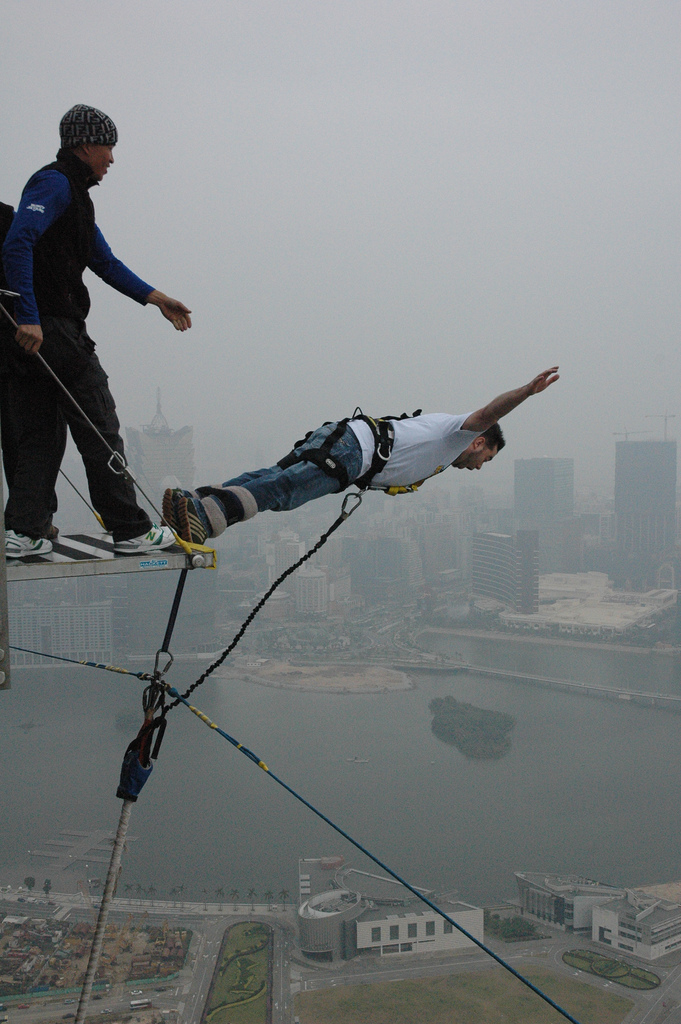 13 of the best bungee jumping destinations worldwide Macau Bungy Flickr image by leduardo