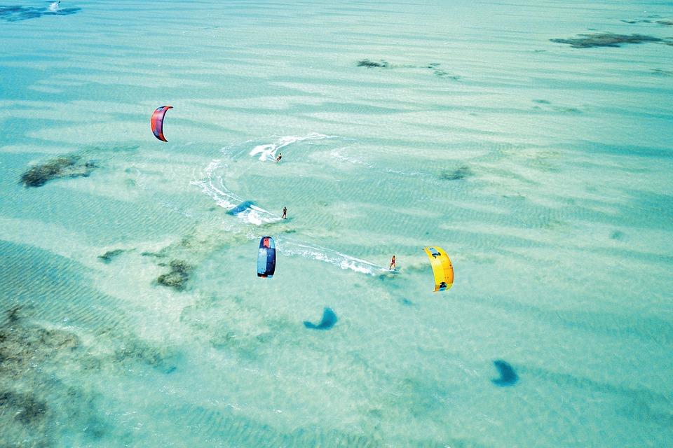 5 pro kitesurfer tips to get you started Pixabay attribution free image from Zanzibar in Tanzania