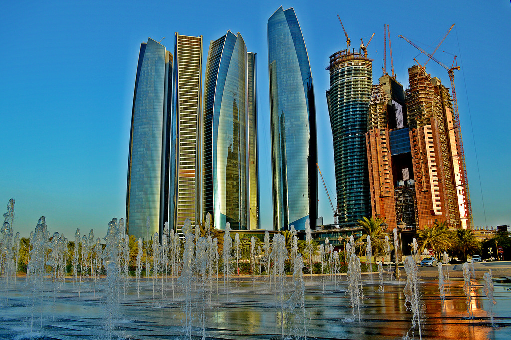 Abu Dhabi skyscrapers one of the best Middle East overland adventures Flickr image by MrT HK