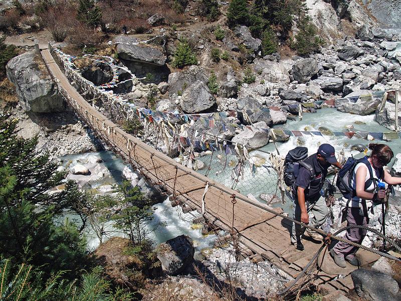 Best treks in Nepal Wikimedia image by Steve Hicks