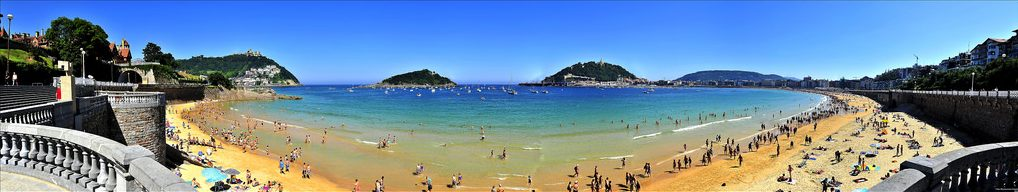 Guide to San Sebastian surfing holidays in north Spain Flickr image by Dorron
