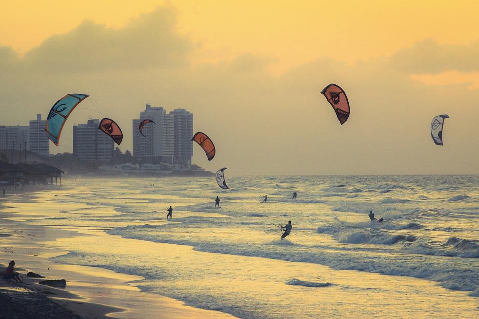 How do I get into kitesurfing Pixabay attribution free image from Brazil