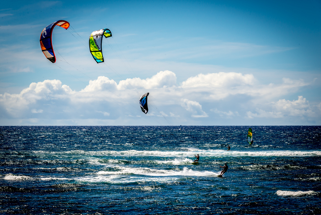 Oahu Hawaii one of Kiteboarding Top 10 Destinations in the United States Flickr image by Paloika
