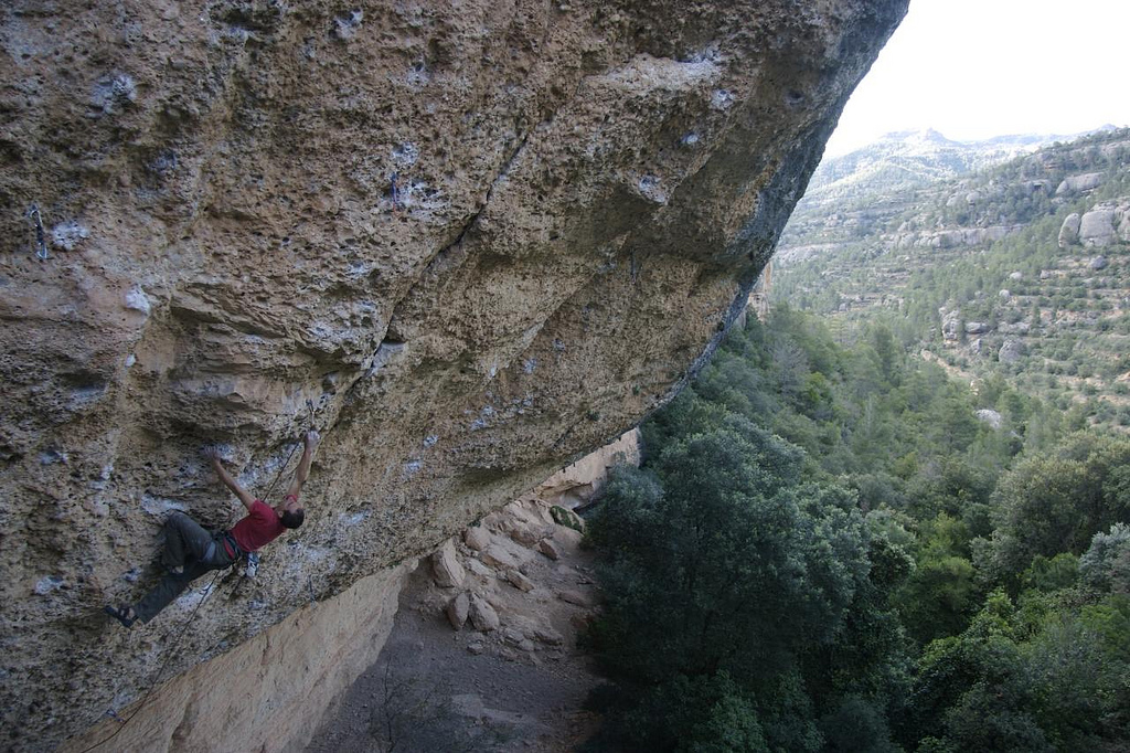 Sella rock climbing holidays in Costa Blanca flickr image by Neil_mcquaid