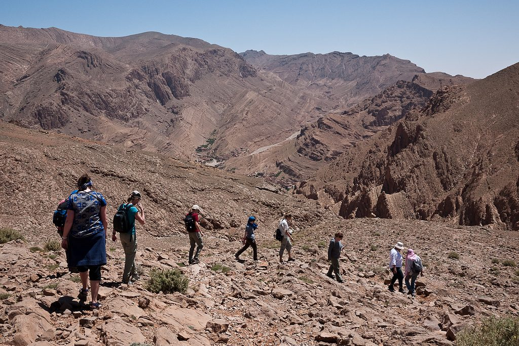 Todra Gorge Trekking holidays in Morocco 10 best Moroccan treks flickr CC image by cliffwilliams