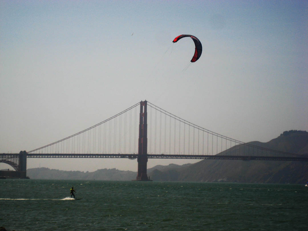 San Francisco one of the Top 10 kiteboarding destinations in the United States Flickr creative commons image by chelsiefoty