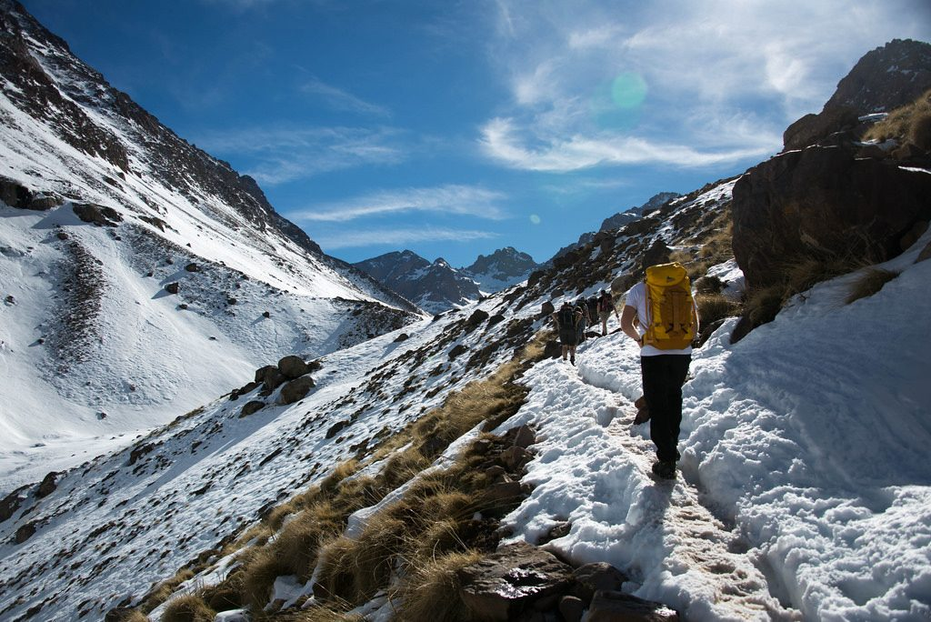 Toubkal Trekking holidays in Morocco 10 best Moroccan treks Flickr CC image by pmakholm