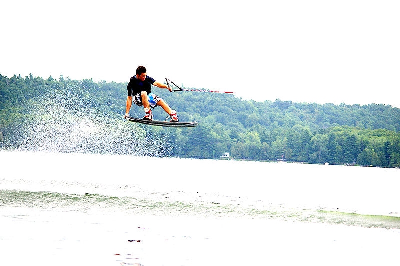 Wakeboard in Portugal Wikimedia image by Pattyboy1010