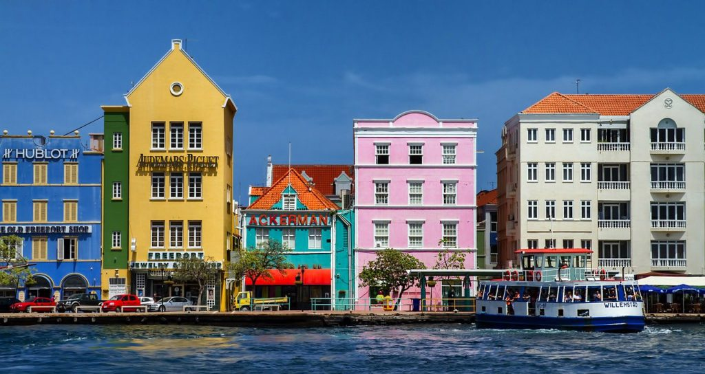 Willemstad Curacao one of 11 best ports in the West Indies Pixabay royalty free image