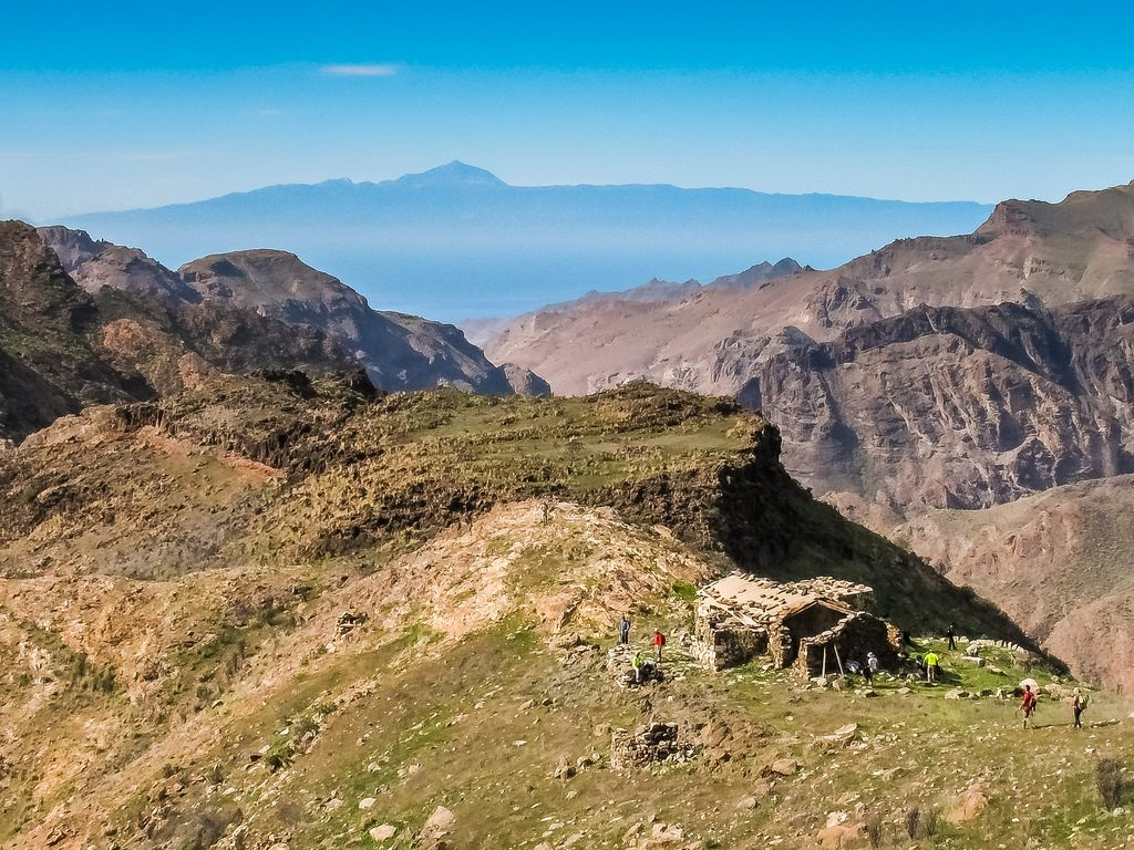 Gran Canaria hiking holidays Secret forests volcanic craters Image courtesy of Gran Canaria Walking Festival