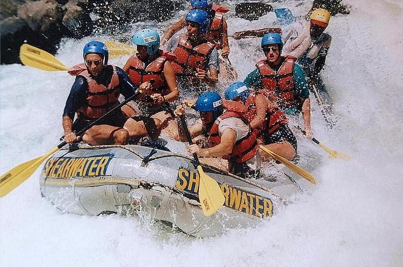 Best white water rafting rivers Wikimedia image by Sascha Grabow