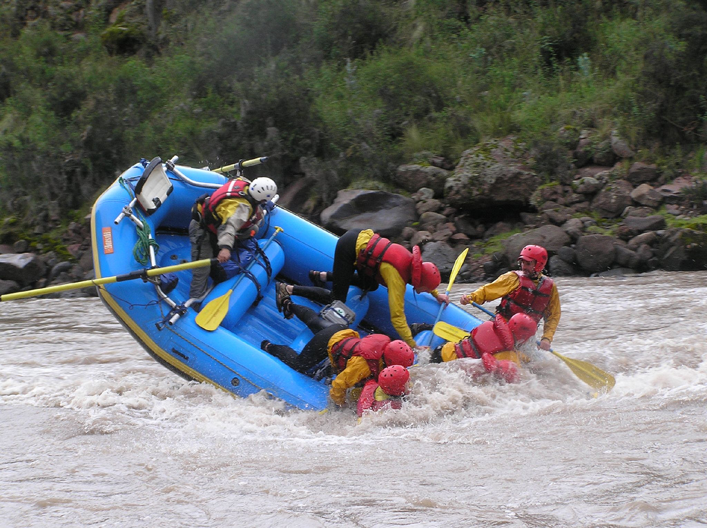 Best white water rafting rivers flickr image by Rupert Taylor-Price