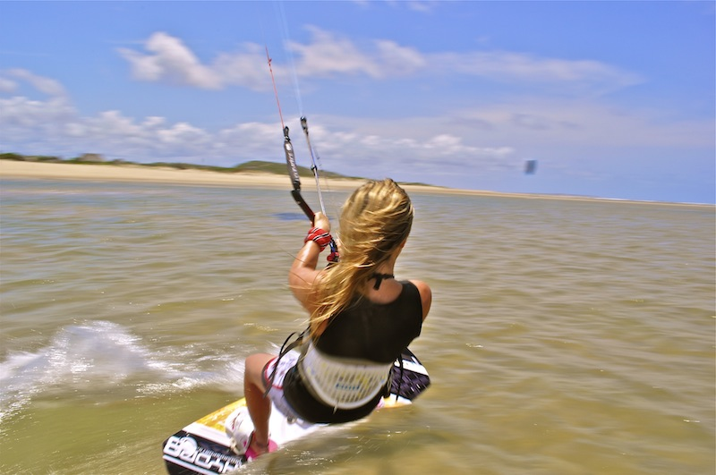 Interview with Anna Campbell Kitesurfing conservationist