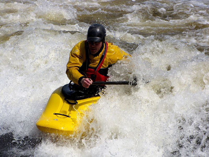 Top 10 white water kayaking rivers Wikimedia image by RaynaultM