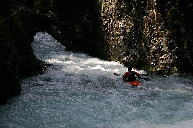 Top 10 white water kayaking rivers Wikimedia image by Zachary Collier