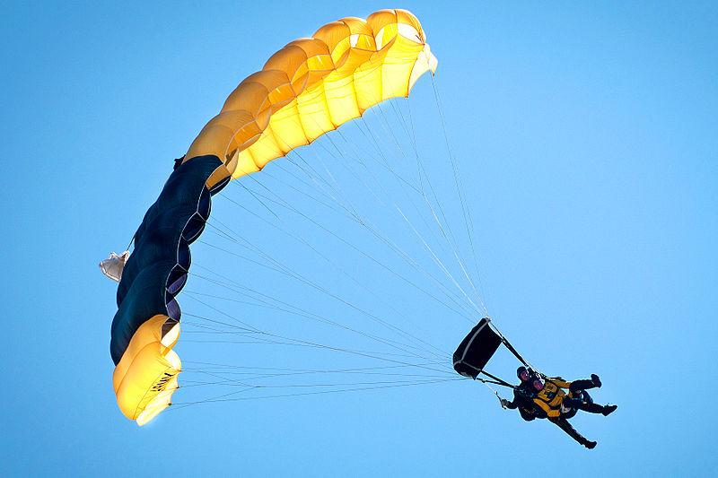 Top 10 UK tandem skydive locations