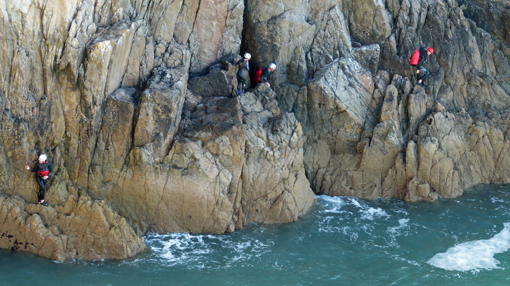 What is coasteering so much more than cliff jumping Flickr image by ARG_Flickr