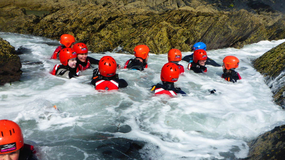 What is coasteering? So much more than cliff jumping! Image courtesy of Celtic Quest Coasteering