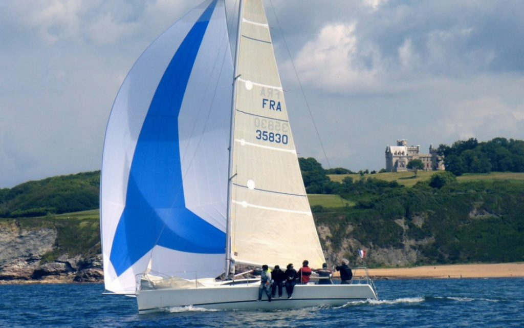 Guide to Biarritz sailing breaks Sail the Bay of Biscay Image courtesy of Spi en Tete sailing school