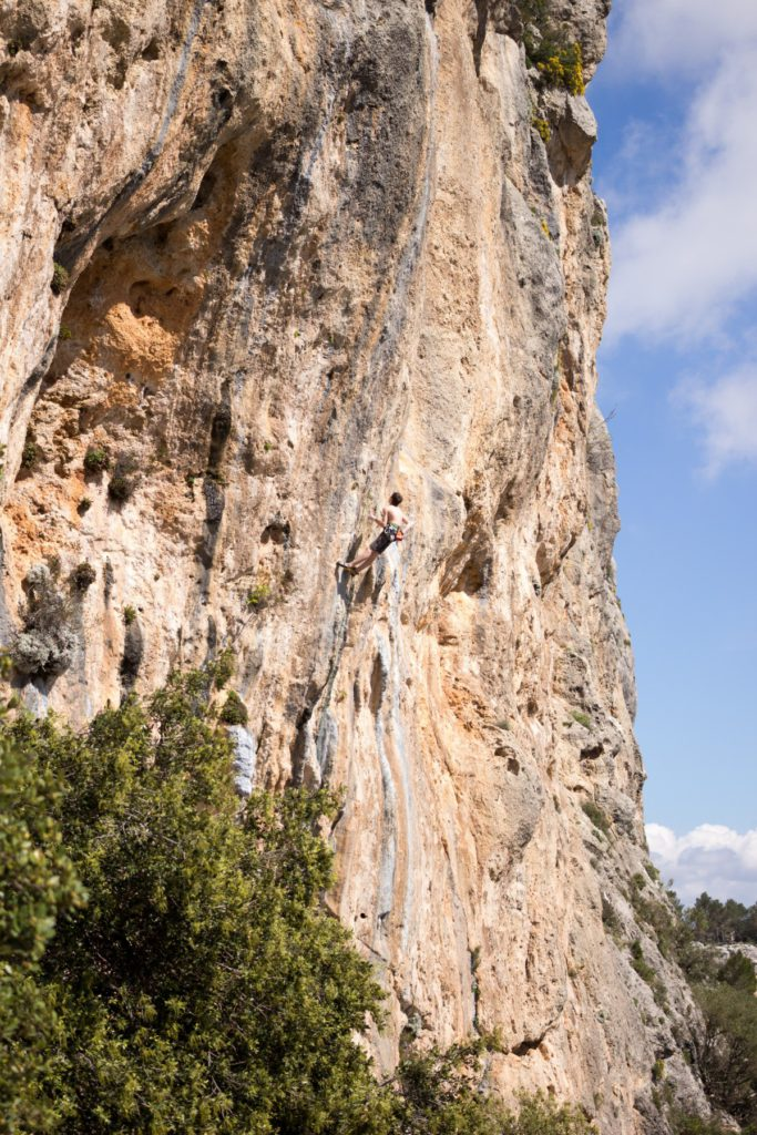 Rock climbing in Mallorca pxhere royalty free image