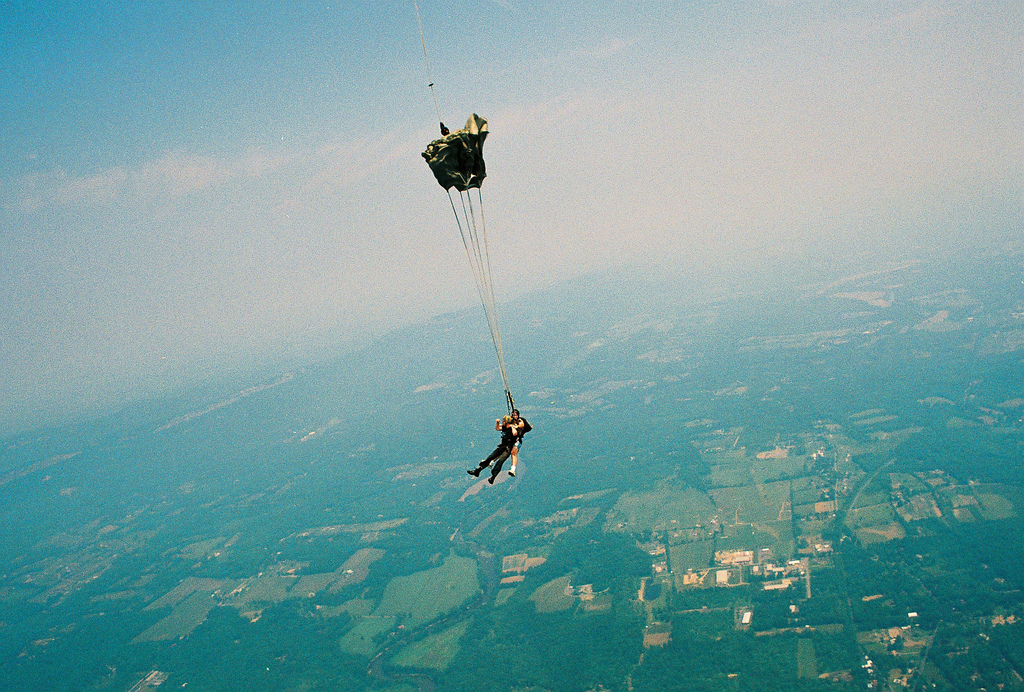Skydiving glossary of terms flickr image by Thraxil