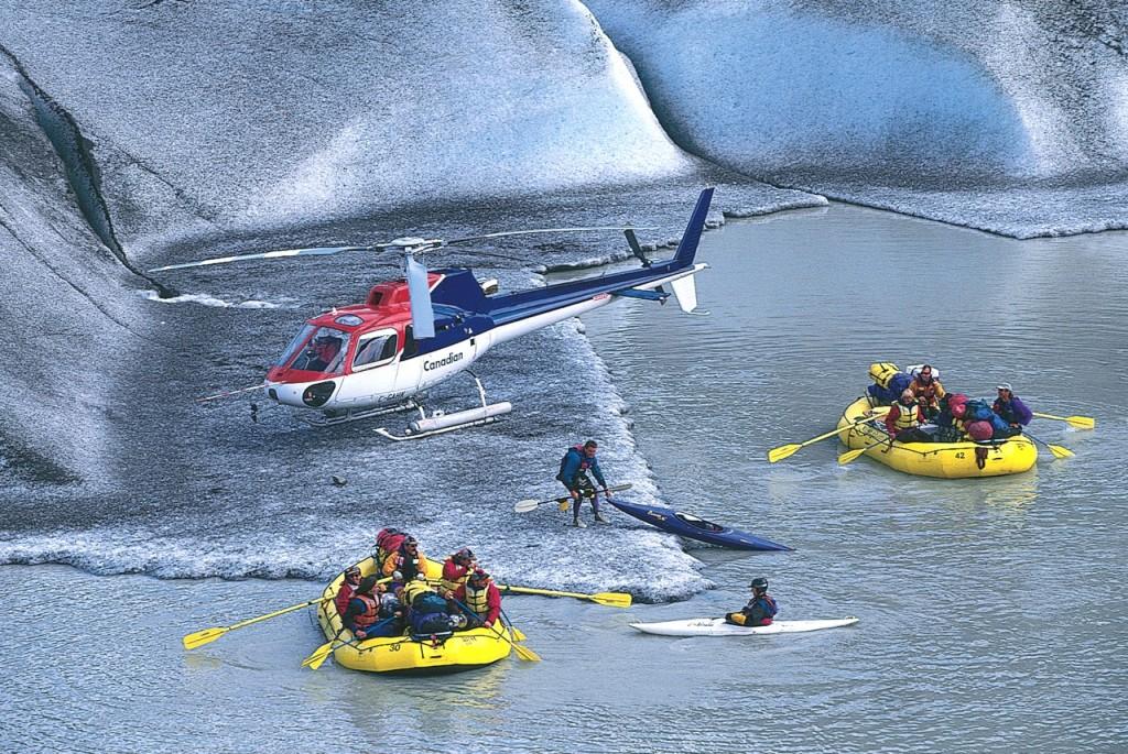 Whitewater rafting adventures Klinaklini River BC