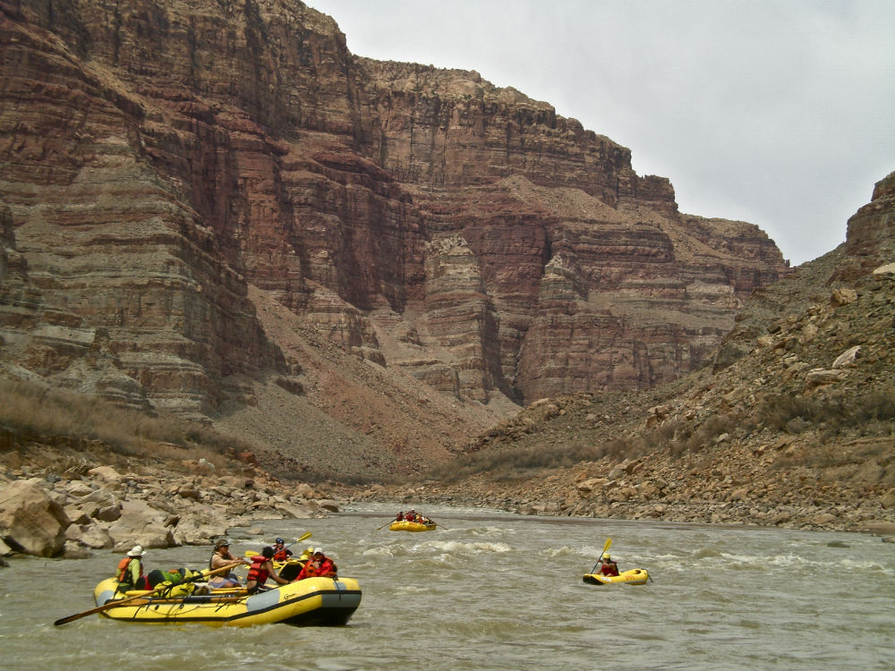 Whitewater rafting adventures Utah
