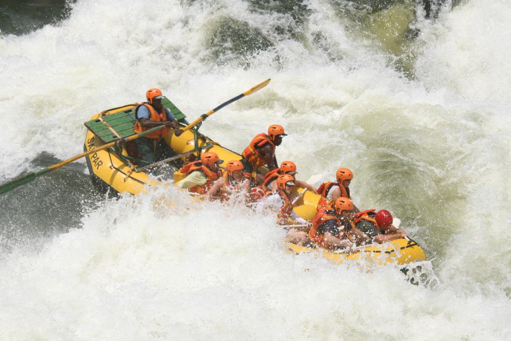 Whitewater rafting adventures zambezi