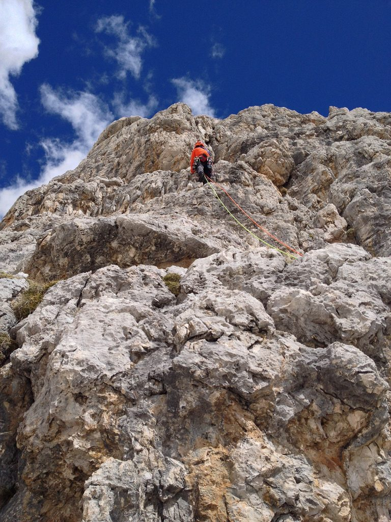 Guide to Italy rock climbing holidays Dolomites one of the Best Italian crags Flickr image by blackwing.de
