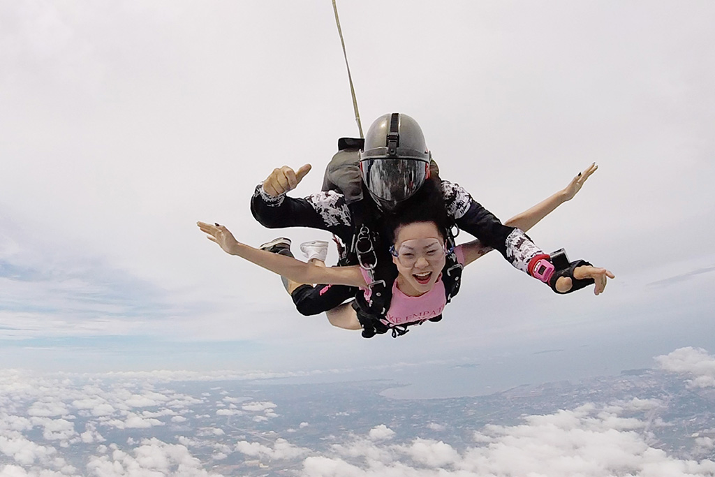 Guide to Thailand skydive holidays Skydiving in Pattaya image courtesy of Thai Sky Adventures
