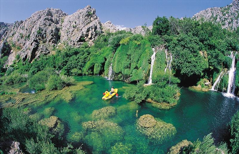 Krupa River Kayaking Holidays in Croatia by Huck Finn Adventures