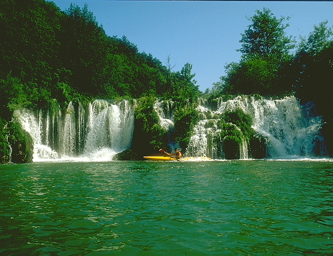 Mreznica canoe and Kayaking Holidays in Croatia by Huck Finn Adventures