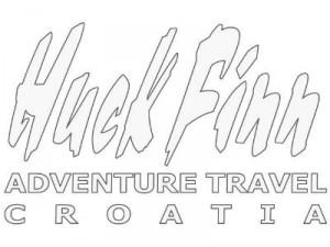 kayaking holidays in Croatia huck finn logo