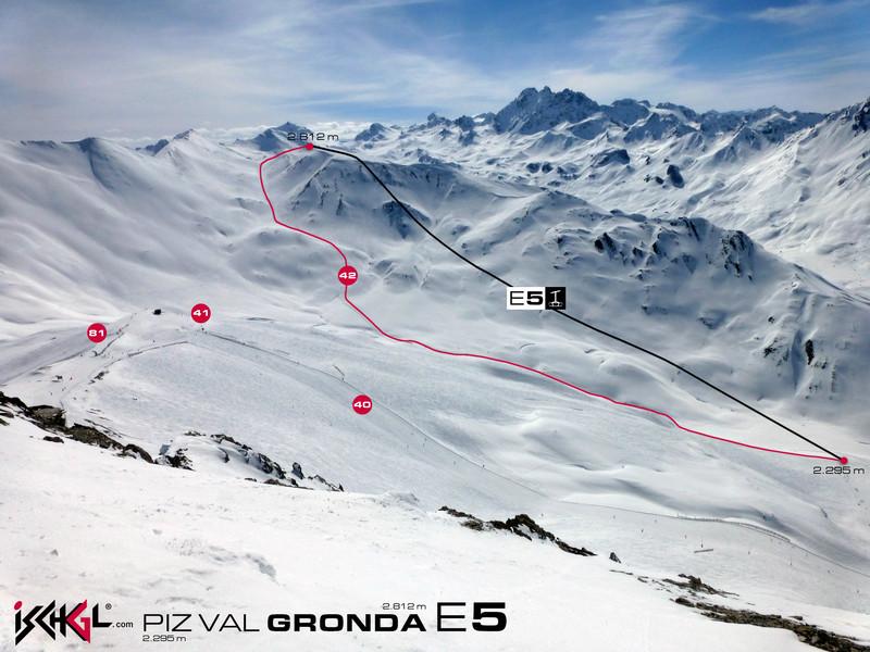 Best ski news 2014 Piz val Gronda E5 image courtesy of ischgl.com
