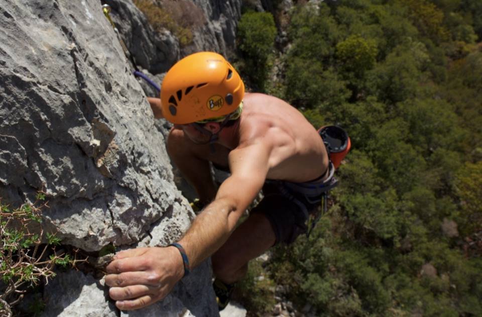 Bodrum rock climbing holidays in Turkey image courtesy of Climbing Datca Facebook Page