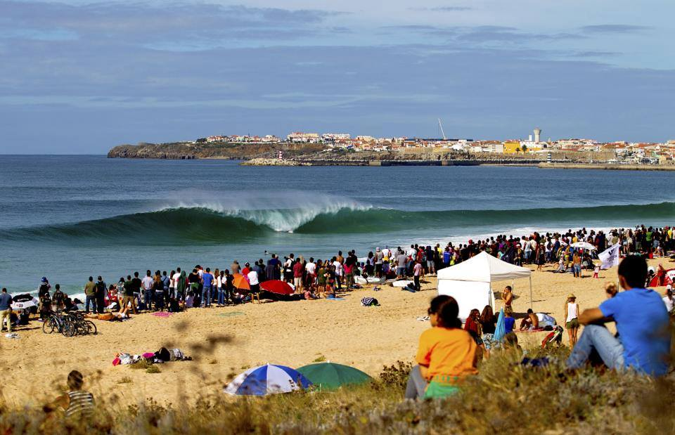 Campervan surfing holidays in Portugal image by West Coast Campers