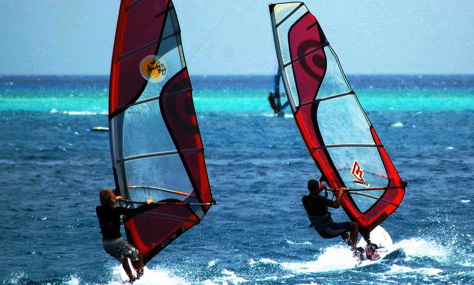 Egypt one of the best family windsurfing holiday destinations Flickr image by SunriseOdyssey Flickr image by Jagoda♥Gio♥Maya