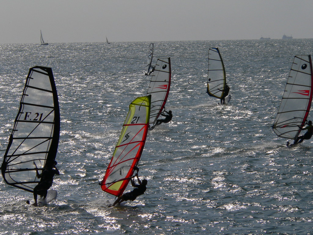 France Windsurfing Wikimedia Commons by Hugo2504
