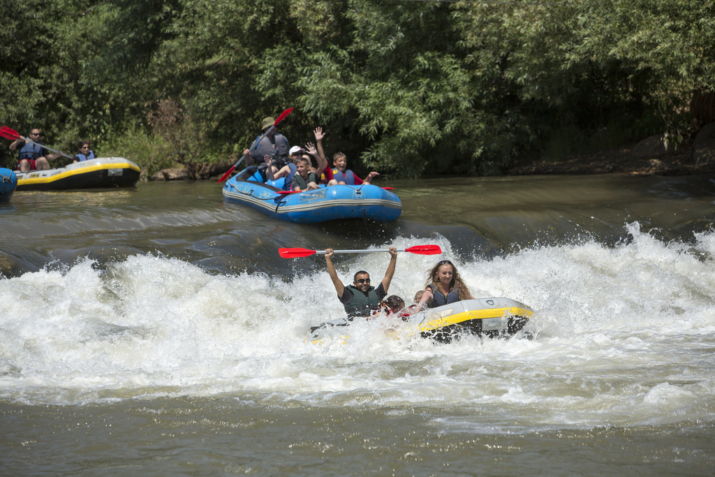 Israel Rafting Flickr image by israeltourism