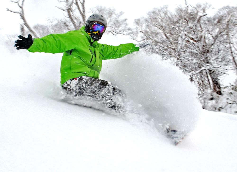 Japanese snowboarding holiday in Niseko image courtesy of HT Holidays