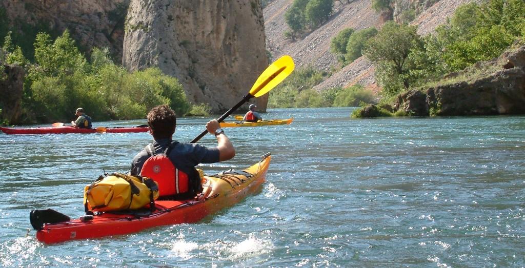 Zrmanja river Kayaking Holidays in Croatia by Huck Finn Adventures