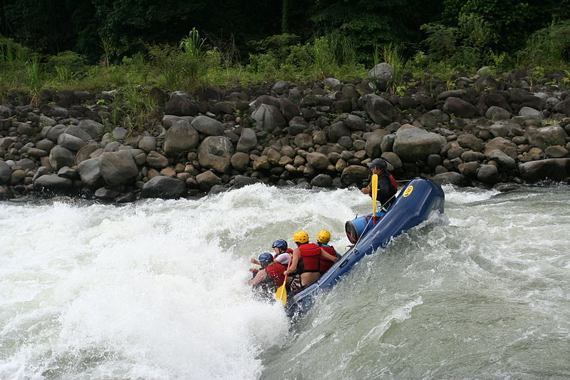 Puerto Rico Rafting Wikimedia Commons image by Autentico Adventures Costa Rica