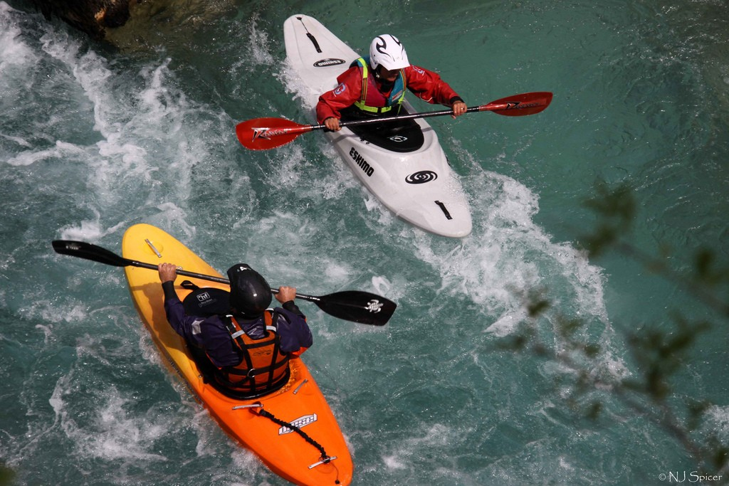 Guide to Soca River kayaking holidays in Slovenia Flickr CC image by neiljs