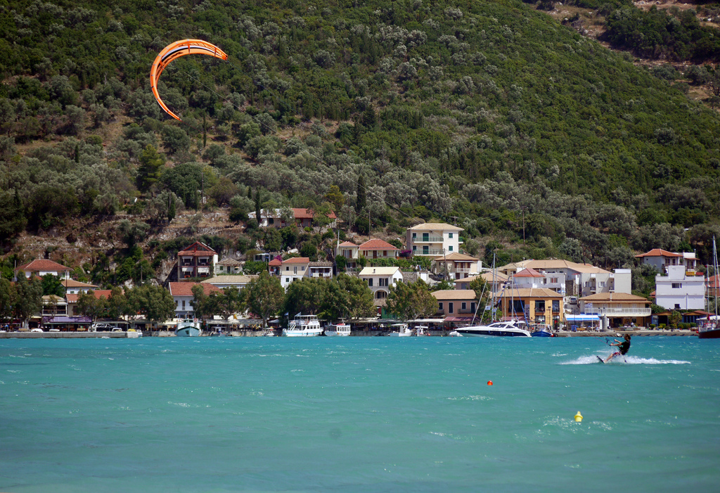 Vassiliki Kiteboarding Flickr image by Brett Jordan