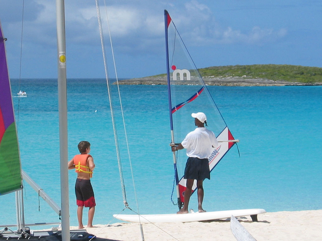 Anguilla Windsurfing Flickr image by tiarescott