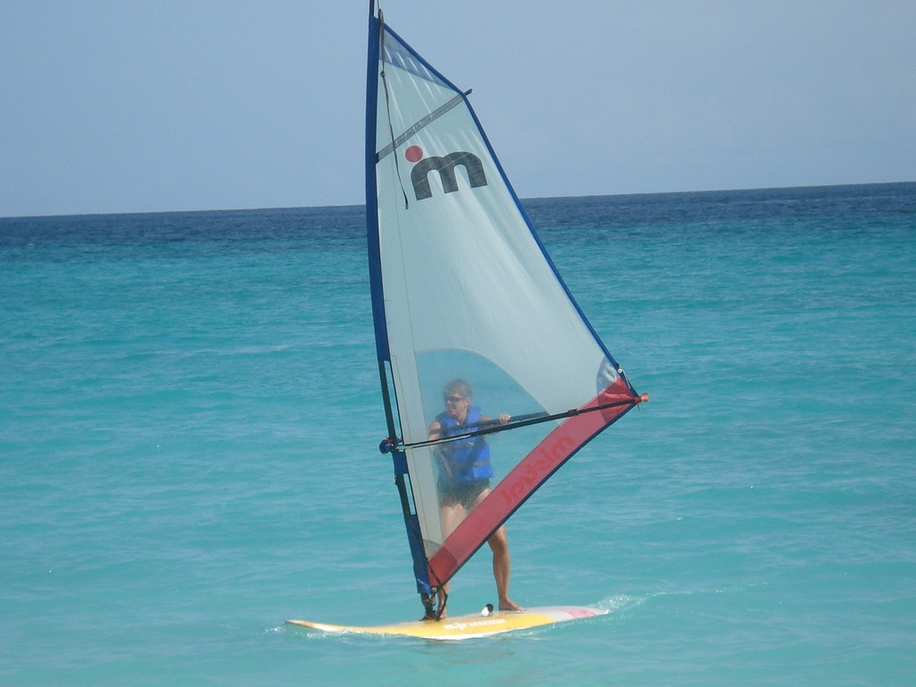 Barbados a caribbean Windsurfing holiday in paradise:  Flickr image by Meg Stewart