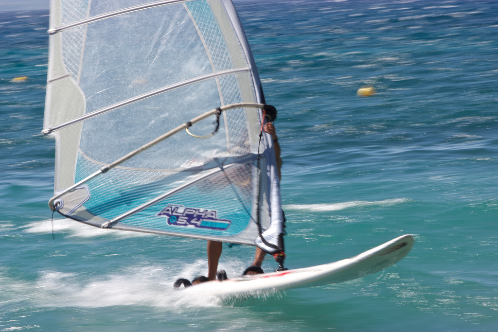Cheap windsurfing holidays flickr image by Futureshape