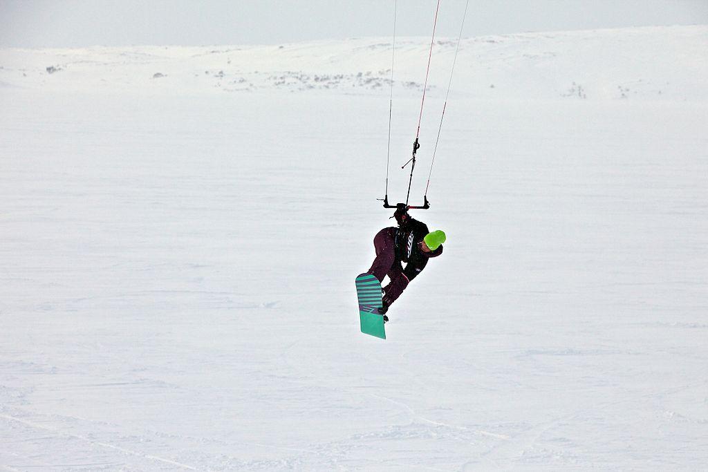 France Snowkiting Wikimedia Commons image by Konstantin Zamkov