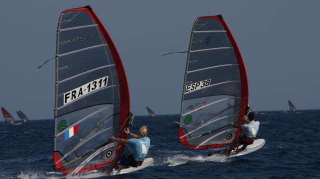Guide to Cyprus windsurfing holidays top Med windsurf spot flickr CC image by RS:X Youth World Windsurfing Championships