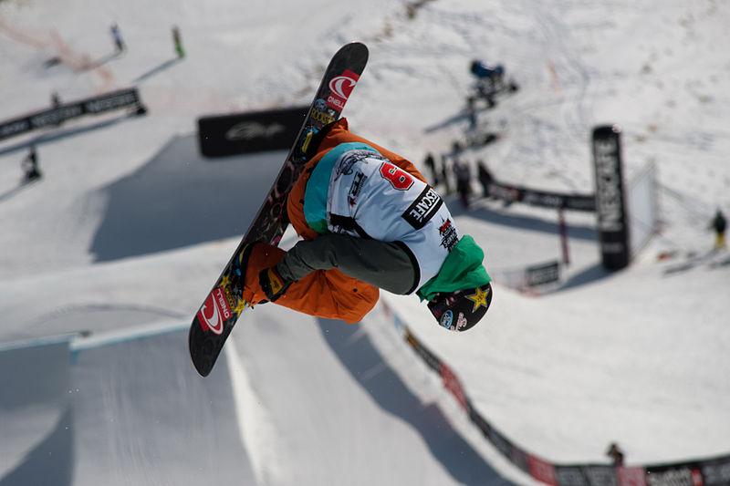 Interesting Snowboarding News 2014 wikimedia image by Fanny Scherzer
